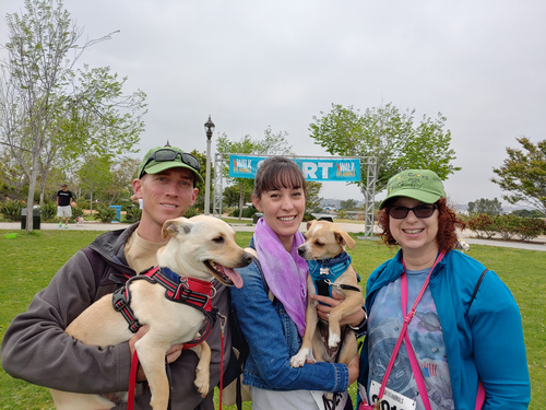 Team Lemon Grove Rovers, Walk for Animals, May 4