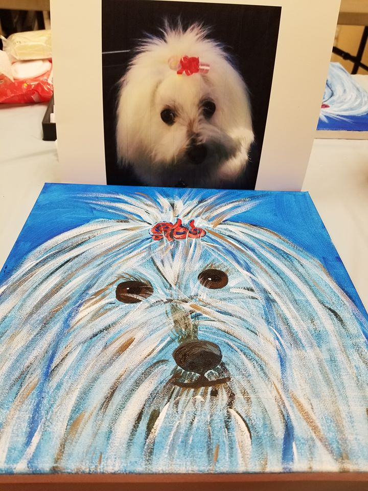 PupPup photo and painting